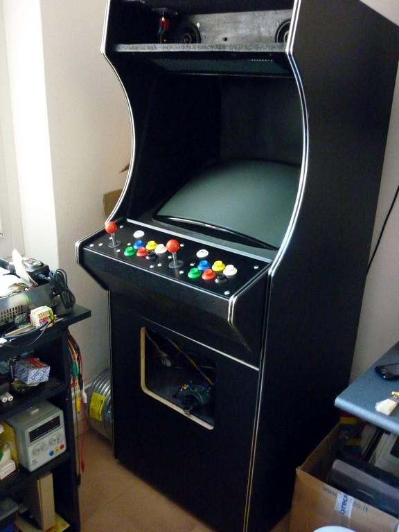 il mio arcade cabinet basato su xbox e coinops 2 articolo
